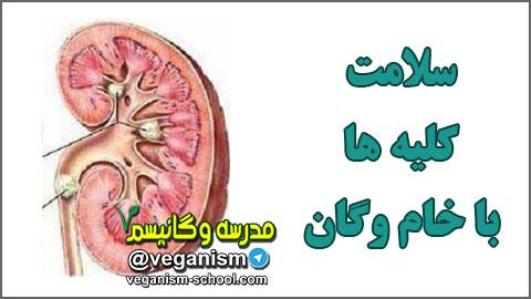سلامت و درمان کلیه با گیاهخواری